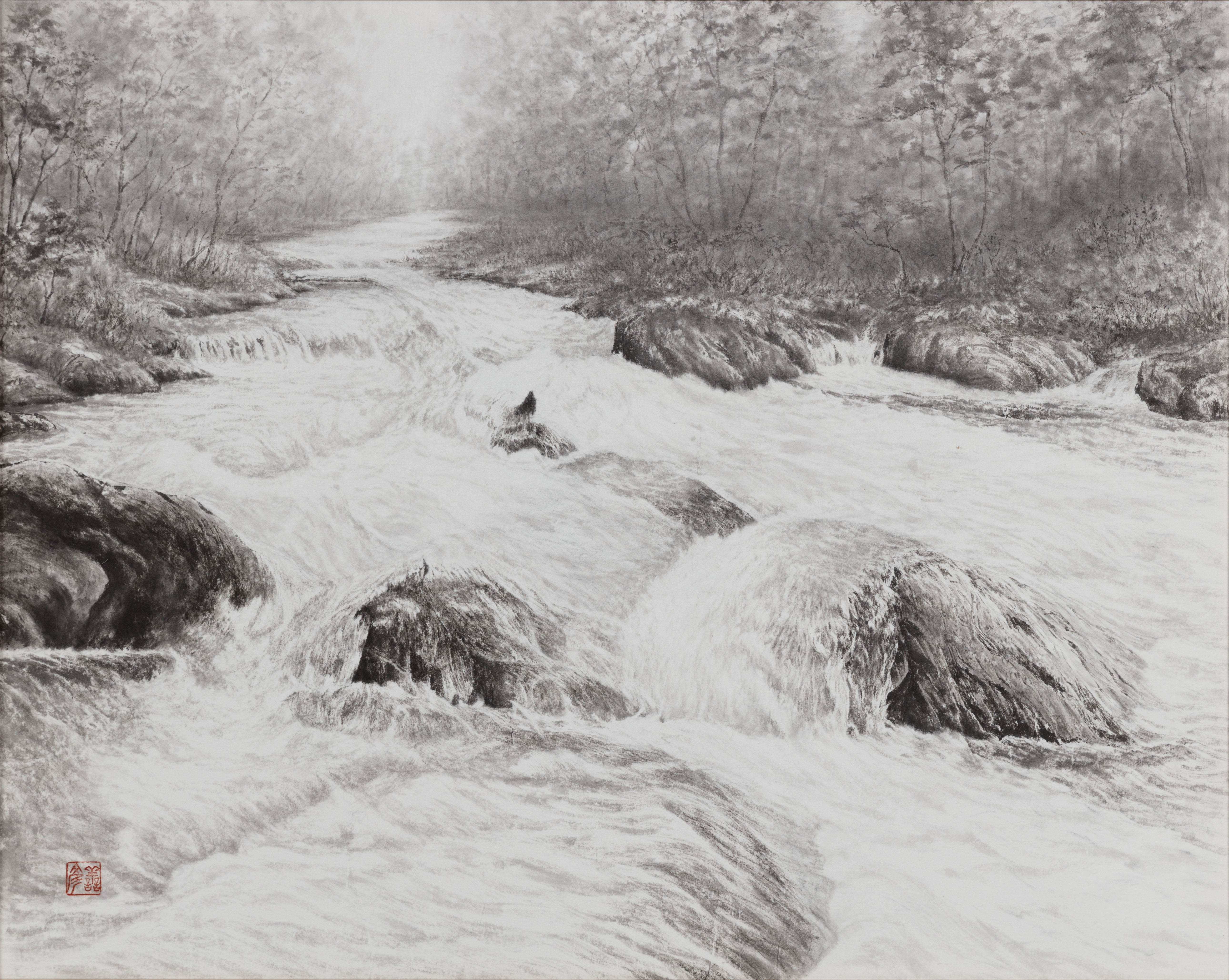 「渓流の風韻」